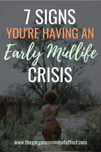 Early Midlife Crisis Signs for Women