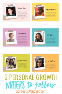 6 Personal Growth Writers to Follow