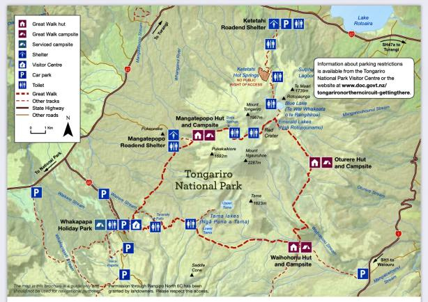Tongariro Northern Circuit vs Alpine Crossing •