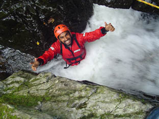 Gorge Walking Wales And The Brecon Beacons