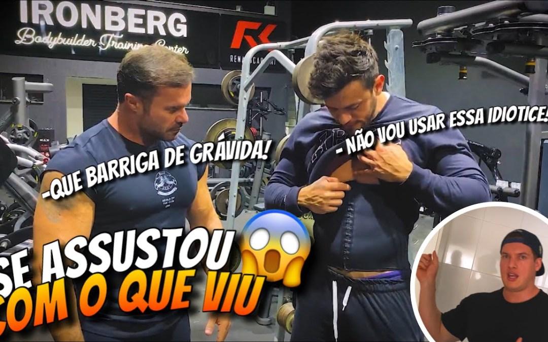 RENATO CARIANI E GORGONOID DE REENCONTRAM DEPOIS DE 5 MESES! *tem que usar cinta!*