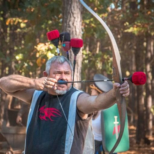 Three gorgtech arrows