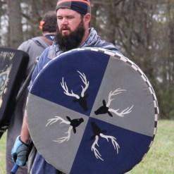 XL Round Punch Shield