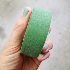 green cloth tape 2