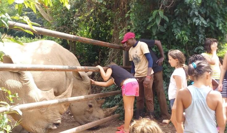 Behind the Scenes tour UWEC Entebbe Zoo