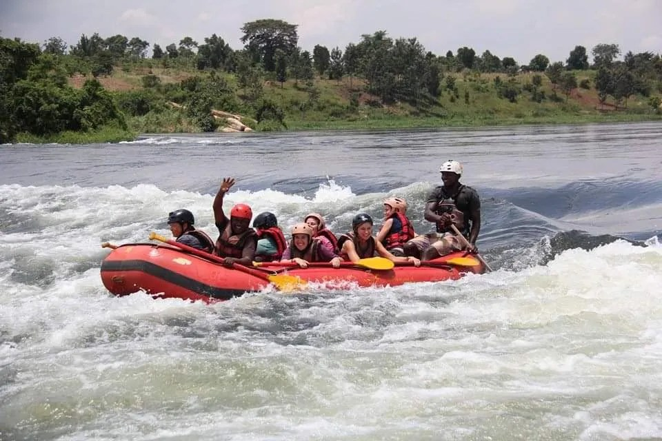White Water Rafting in Uganda, Jinja tour