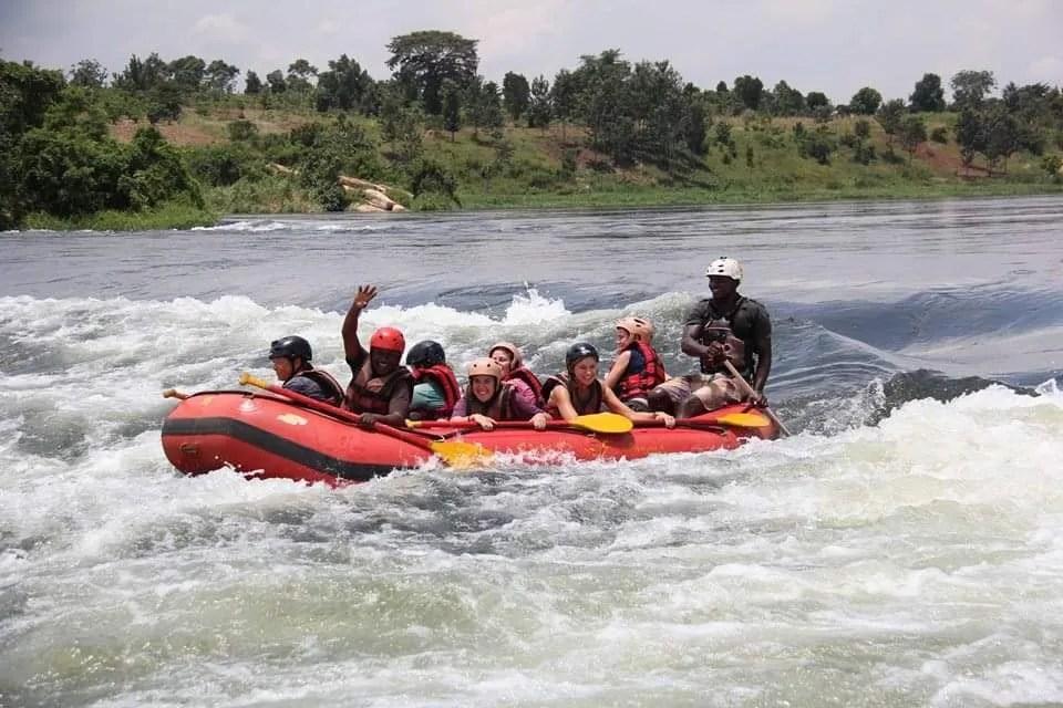 White Water Rafting in Uganda, Jinja tour