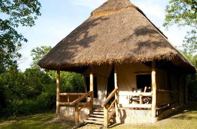 Primate Lodge tent, Uganda