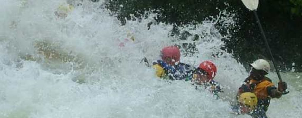 Whitewater rafting gorilla trek tour Uganda