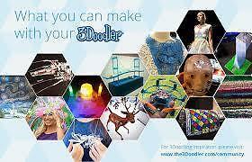 3Doodler 3D Printing Project Book & DoodlePad