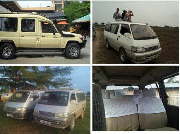 Safari car Hire, Tour Vans, Safari Vans for Hire in Uganda and Rwanda