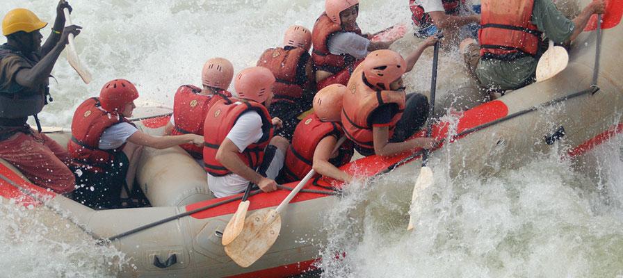 5 Days Nile White Water Rafting