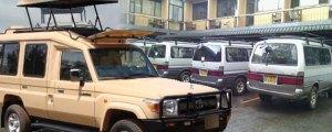 4x4 Safari Car Hire - 4x4 Safari Land Cruisers, Safari Vans