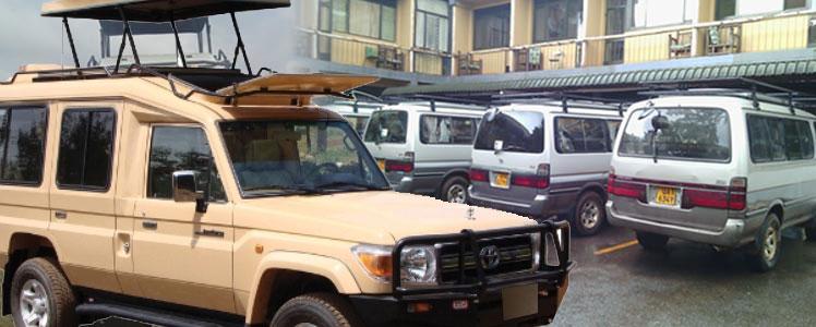 4x4 Safari Car Hire Uganda and Rwanda