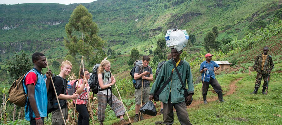 Mt Elgon - The Peak of Mount Elgon - Safari