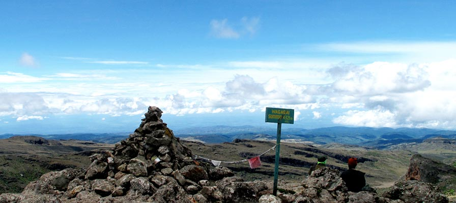 Summit 4321m Mount Elgon National Park