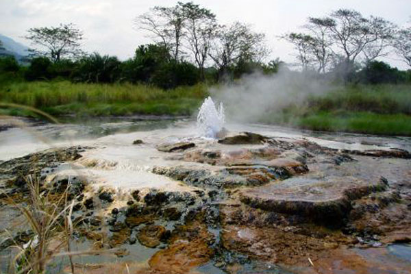 hot springs in Uganda