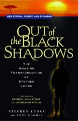 "cover image of ""Out of the Black Shadows"" by Stephen Lungu"