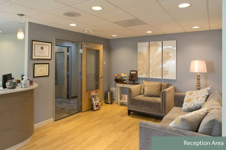 Gorin Plastic Surgery Reception Area