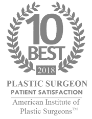 ten best plastic surgeon badge