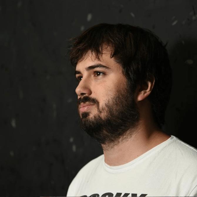Foto de la entrevista con Sergio Vegas