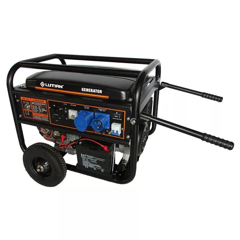 Petrol Generator - LT9000EB_ATS