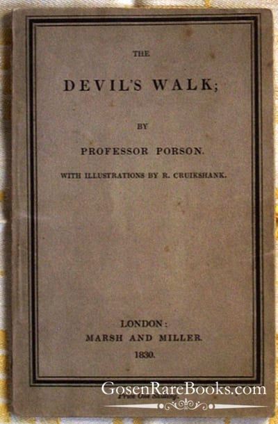 Porson - The Devil's Walk - 1830