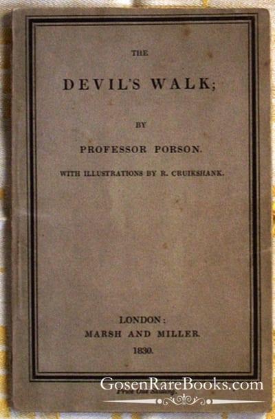 Porson - The Devil's Walk - 1830