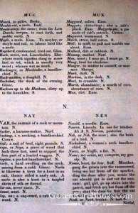 Francis Grose - A Provincial Glossary