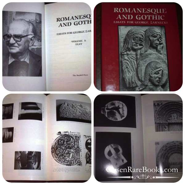 Romanesque and Gothic Essays for George Zarnecki