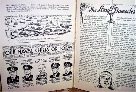 Our naval chiefs of today, 1944.