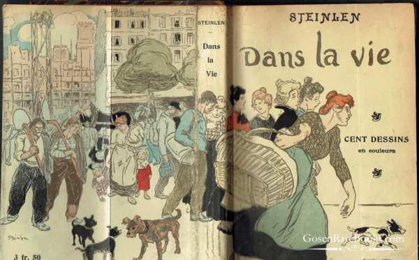 STEINLEN: Dans la Vie par Steinlen - 1901
