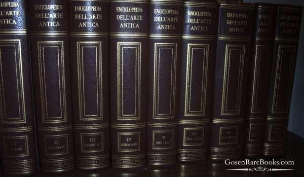TRECANNI Enciclopedia dell'Arte Antica Classica e Orientale
