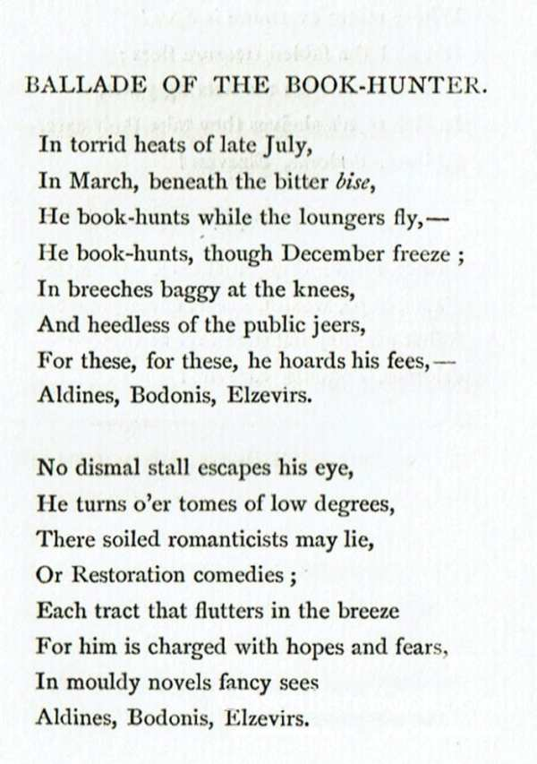 XXII Ballades in Blue China 1880 John Spoor's Bookplate