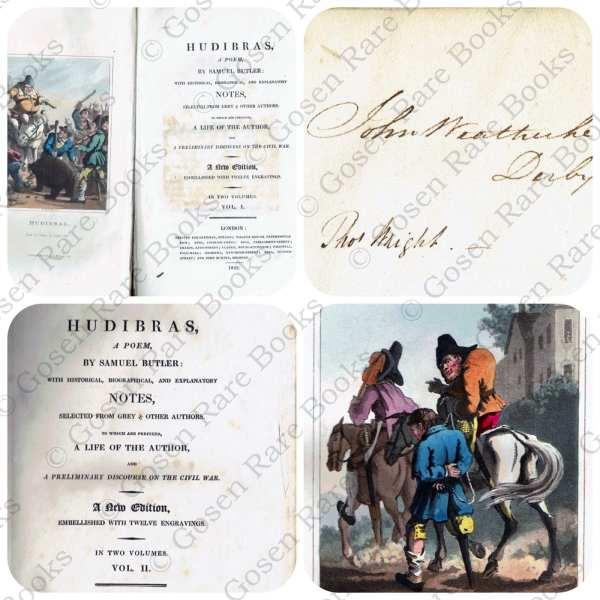 Samuel Butler's HUDIBRAS Illustrated - 1822