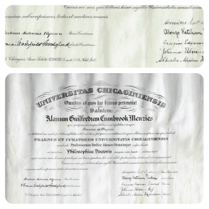Albert Abraham Michelson | Signed Document 1905