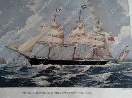 "Iron Clipper Ship ""Cornwallis"" 1214 Tons 