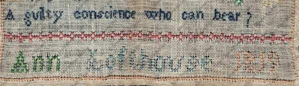 Cross Stitch Sampler by Ann Lofthouse
