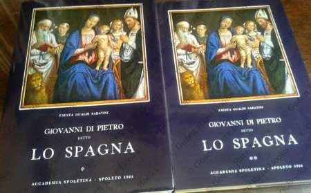 Giovanni di Pietro detto lo Spagna | Spoleto: Accademia Spoletina 1984