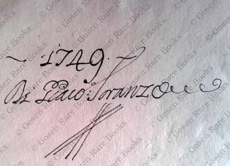 Francesco Vettori NUMMUS AEREUS VETERUM CHRISTIANORUM Signed by Giacomo Soranzo