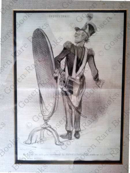 Daumier, Honoré-Victorin | Original Lithograph from Série Coquetterie