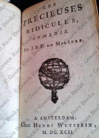 Molière, Les Precieuses Ridicules 1692