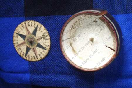 Magnetic Compass circa 1790 Paper Compass Rose