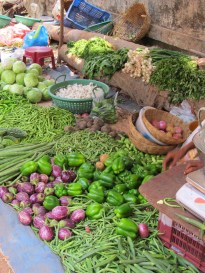 Calangute market, Goa