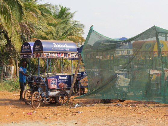 Ice cream carts, Goa