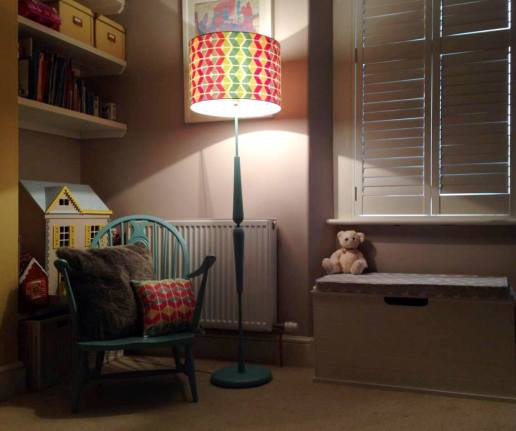 Bespoke lampshade Plymouth