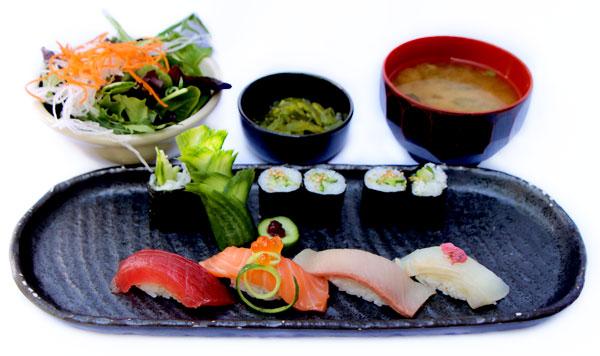 Sushi & Roll  -$18