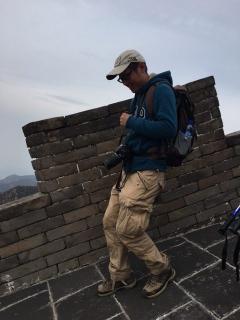 Badaling - that steep!