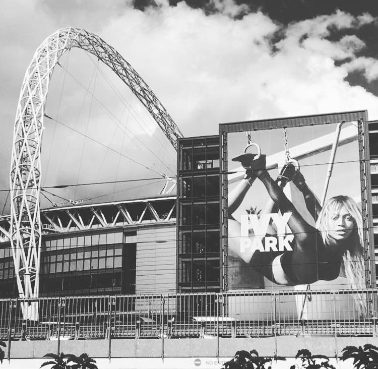 Beyonce at Wembley