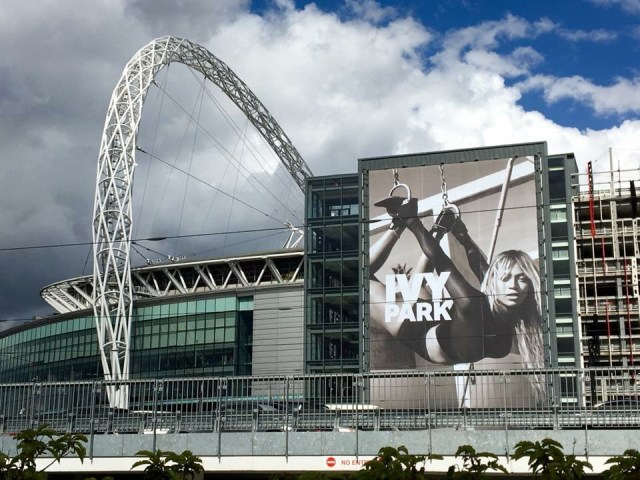 Wembley and Ivy Park Ad